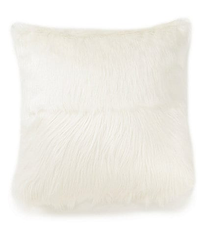 Highline Bedding Co. Madrid Faux-Fur Square Pillow