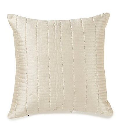 Highline Bedding Co. Madrid Quilted Satin Square Pillow