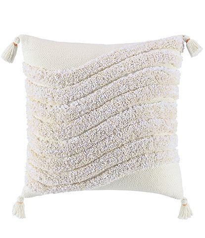 Highline Bedding Co. Pyla Tufted Square Pillow
