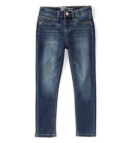 Hippie Girl Little Girls 4-6X REPREVE Hi-Rise Skinny Jeans