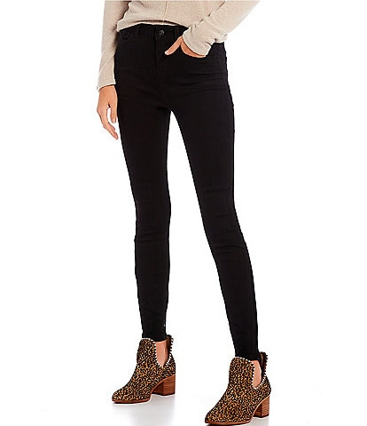 Hippie Laundry Power Stretch Mid Rise Skinny Jeans