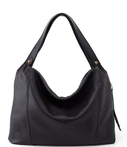 Hobo Alannis Leather Top Zip Shoulder Bag