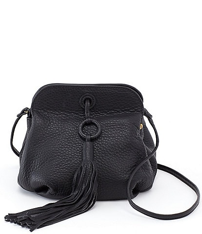 Hobo Birdy Magnetic Snap Tassel Crossbody