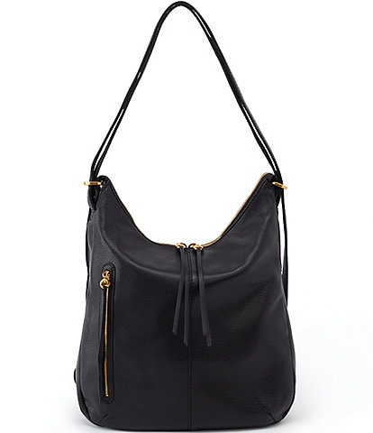 Hobo Merrin Convertible Leather Backpack Shoulder Bag