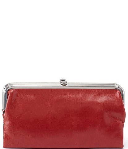 Hobo Original Leather Lauren Double-Frame Clutch Wallet