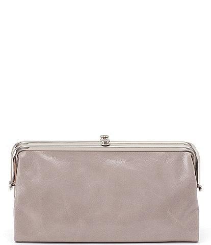 Hobo Original Leather Lauren Double-Frame Clutch Wallet