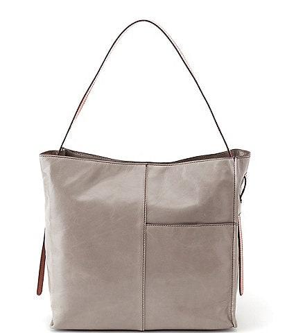 HOBO Park Medium Leather Tote Bag