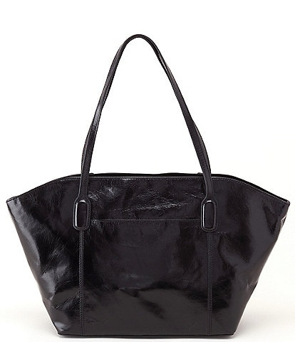 Hobo Patti Shoulder Zip Leather Tote Bag