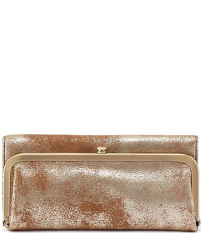 Hobo Rachel Frame Metallic Wallet