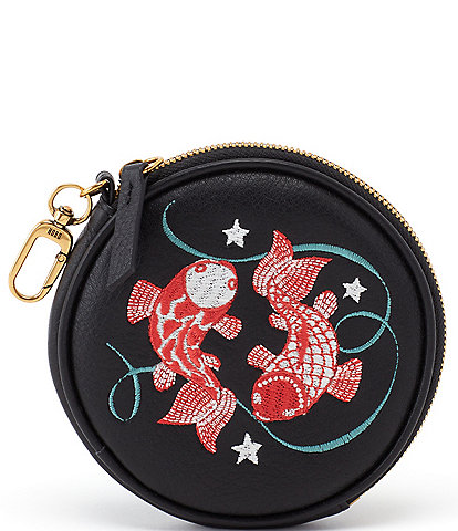 HOBO Revolve Embroidered Pouch- Pisces