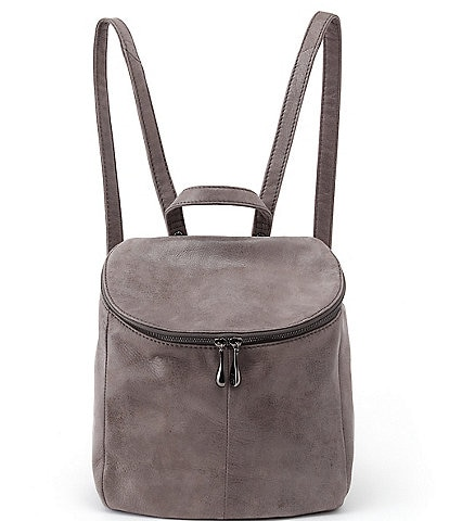 Hobo River Zip Top Medium Leather Backpack