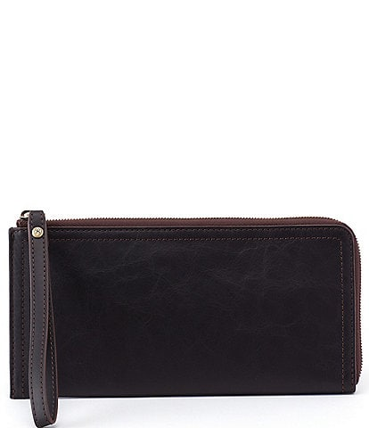 Hobo Rove Zip Around Leather Wristlet