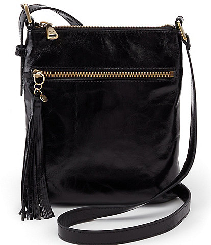 Hobo Sarah Leather Top Zip Crossbody Bag