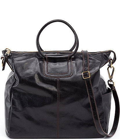 Hobo Sheila Leather Ring Handle Convertible Crossbody Bag