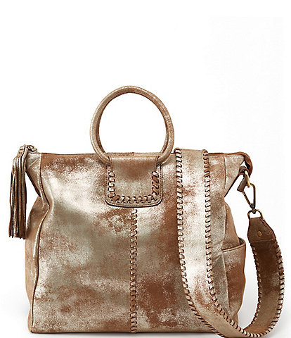Hobo Sheila Metallic Ring Handle Convertible Crossbody Bag