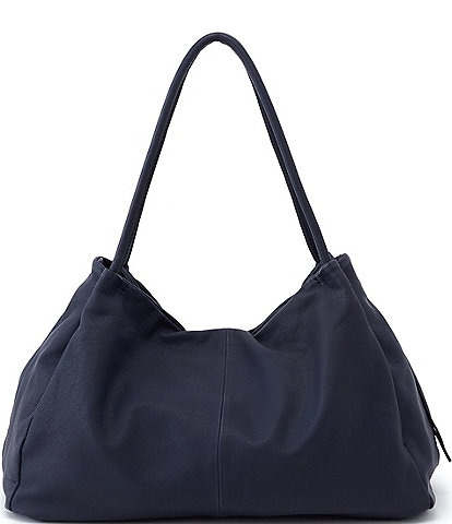 HOBO Soft Hide Collection Prima Leather Snap Tote Bag