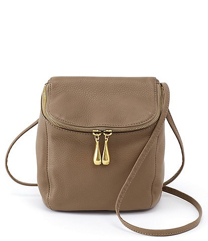 Hobo Stream Top Grain Leather Convertible Backpack Crossbody Bag