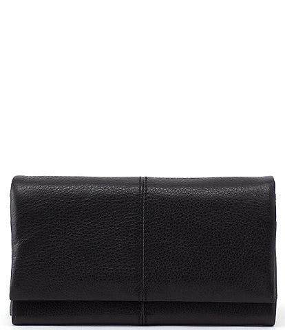 Hobo Velvet Hide Collection Keen Leather Wallet