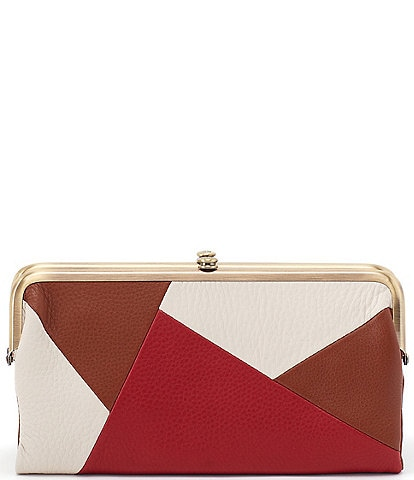 Hobo Velvet Hide Collection Lauren Clutch Wallet