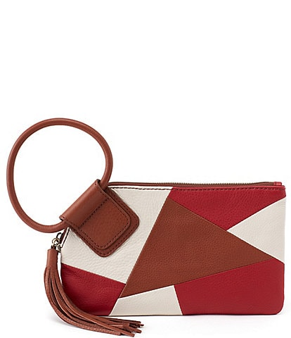 Hobo Velvet Hide Collection Sable Wristlet