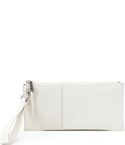 Hobo Vida Top-Grain Leather Zip Wristlet