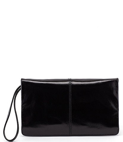 Hobo Vintage Hide Collection Evolve Leather Clutch Wristlet