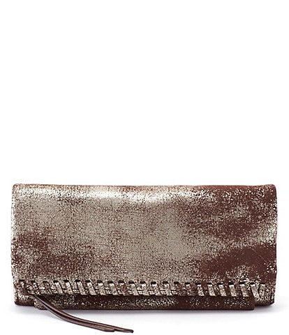Hobo Wade Leather Snap Continental Wallet