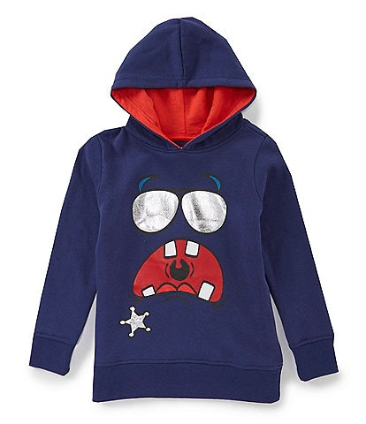 Hollywood Little Boys 2T-7 Montster-Face Hoodie