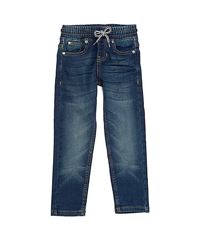 Hollywood Little Boys 4-7 Pull-On Denim Pant