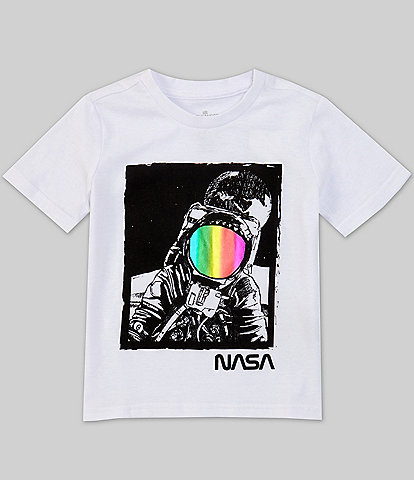 Hollywood Little Boys 4-7 Short-Sleeve NASA Astronaut Tee
