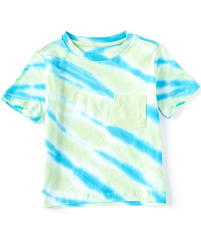 Hollywood Little Boys 4-7 Short-Sleeve Tie-Dye Streak Tee