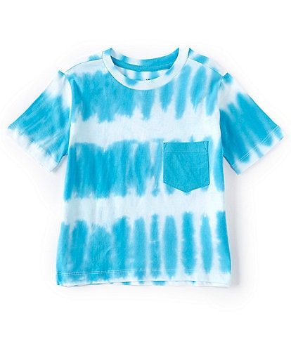 Hollywood Little Boys 4-7 Short-Sleeve Tie-Dye Stripe Tee