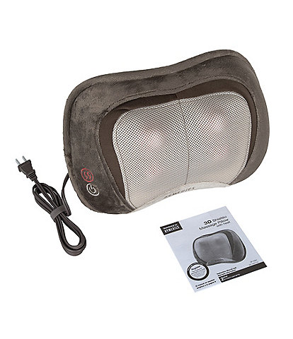 Homedics Shiatsu Elite 3D Shiatsu & Vibration Massage Pillow with Heat