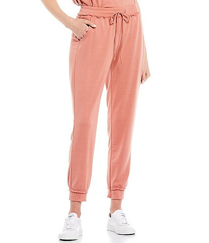 Honey & Sparkle Coordinating Knit Jogger Pants