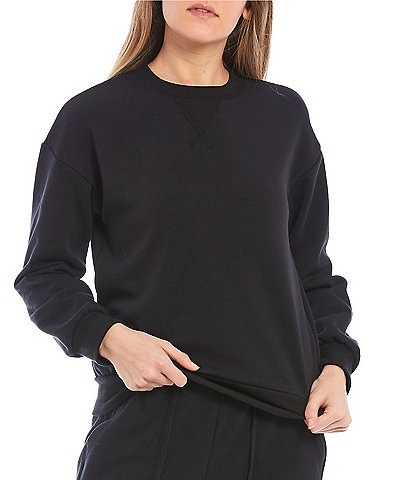 Honey & Sparkle Fleece Lined Pullover Top
