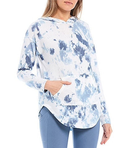 Honey & Sparkle Tie-Dye Long Sleeve Hoodie