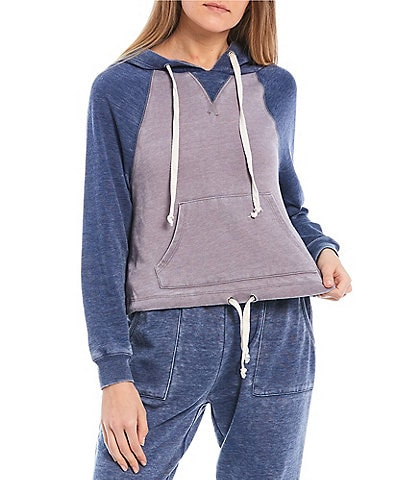 Honey & Sparkle Washed Fleece Pullover