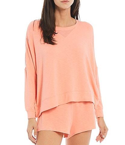 Honeydew Intimates Starlight Solid French Terry Lounge Coordinating Sweatshirt