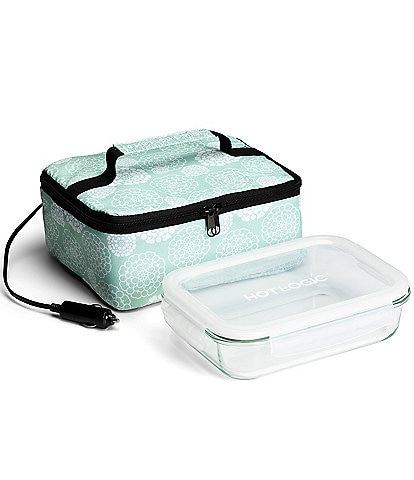 Hot Logic Portable Mini Oven and Food Warmer Lunch Bag with Glass Dish 12V