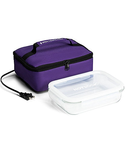 Hot Logic Portable Mini Oven and Food Warmer Lunch Bag with Glass Dish