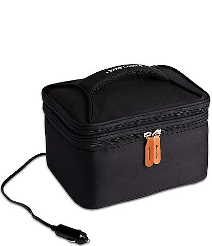 Hot Logic Portable Oven and Food Warmer Expandable Lunch Tote Bag 12V Car Plug