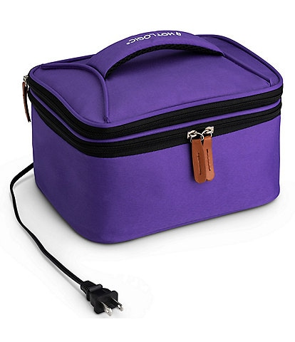 Hot Logic Portable Oven and Food Warmer Lunch Tote Bag with Glass Dish