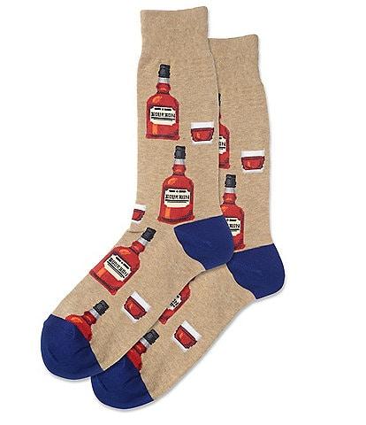 Hot Sox Bourbon Crew Socks