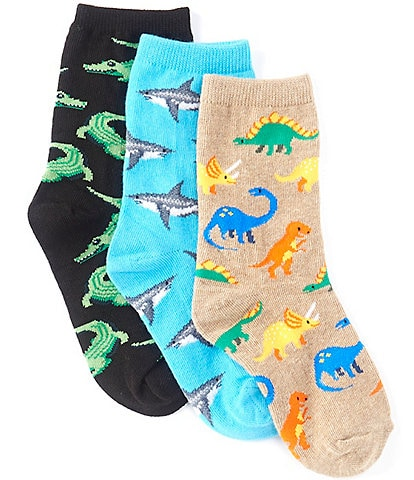 Hot Sox Kids 3-Pack Animal Socks