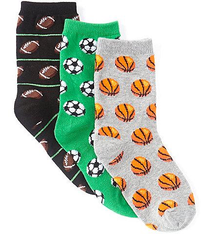Hot Sox Kids 3-Pack Sports Socks