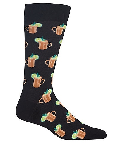 Hot Sox Novelty Moscow Mule Crew Socks