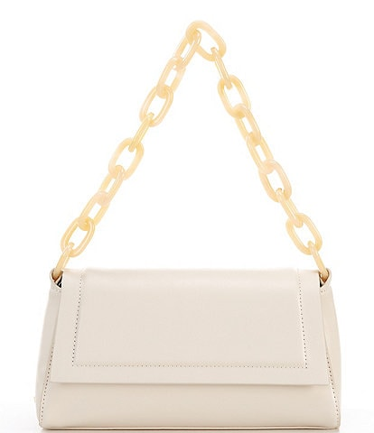 House of Want How We Fashion Vegan Leather Chain Strap Shoulder Bag