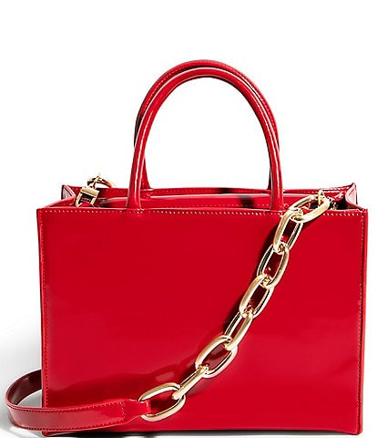 House of Want We Gram Small Leather Top Zip Tote Bag