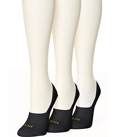 HUE Air Cushion Breathable Liner Socks, 3 Pack