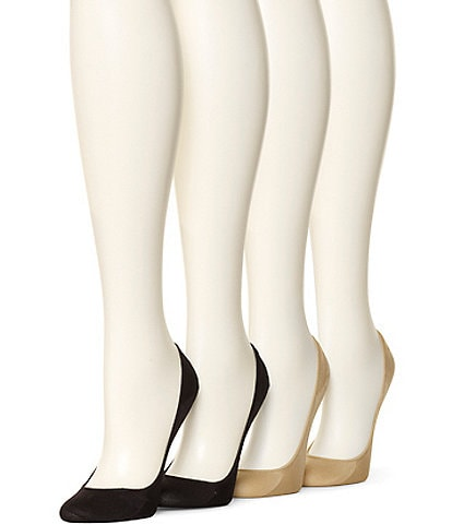 HUE Microfiber Cushioned Liner 4 Pair Value Pack